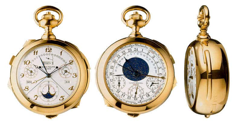 orologio da tasca Patek Philippe Caliber 89 Pocket Watch