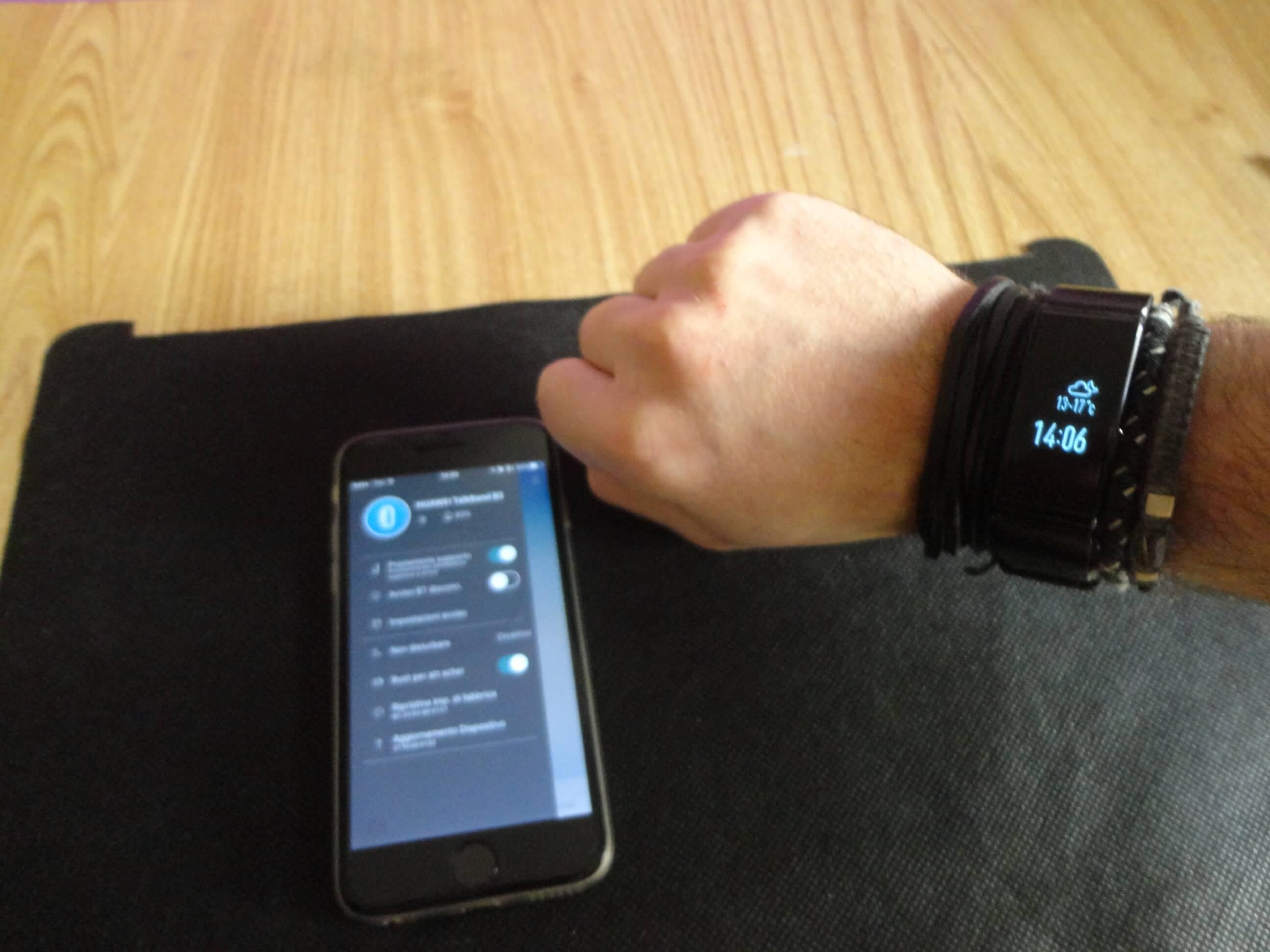 Huawei Talkband B2 app