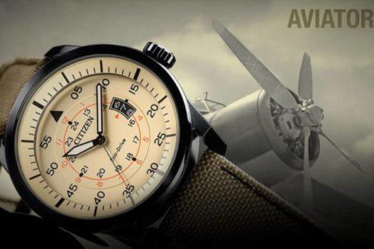 Citizen Aviator: l'orologio simbolo del movimento Eco-drive