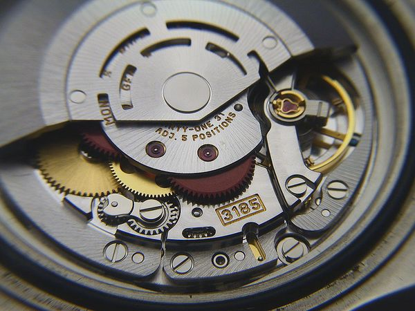 informazioni sull'orologio automatico