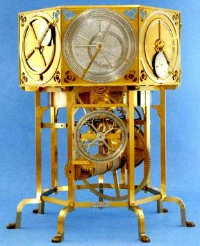 l'orologio costruito da Giovanni Dondi
