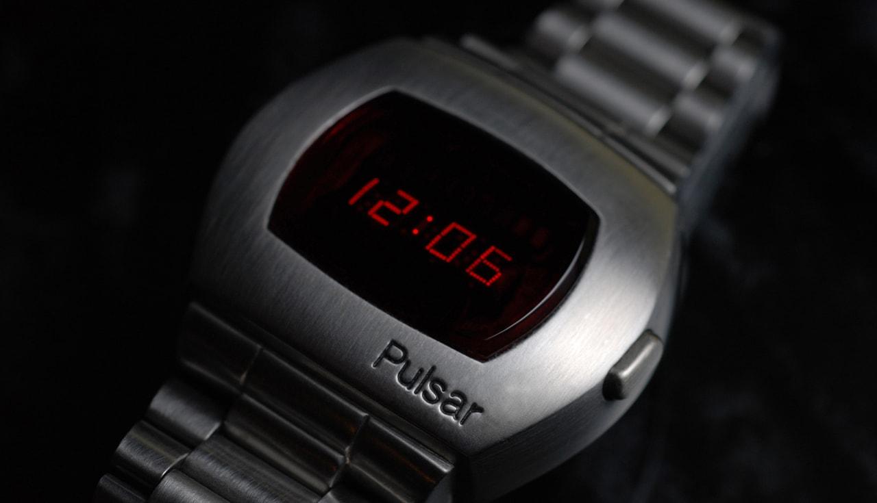 primo orologio digitale pulsar anni 70