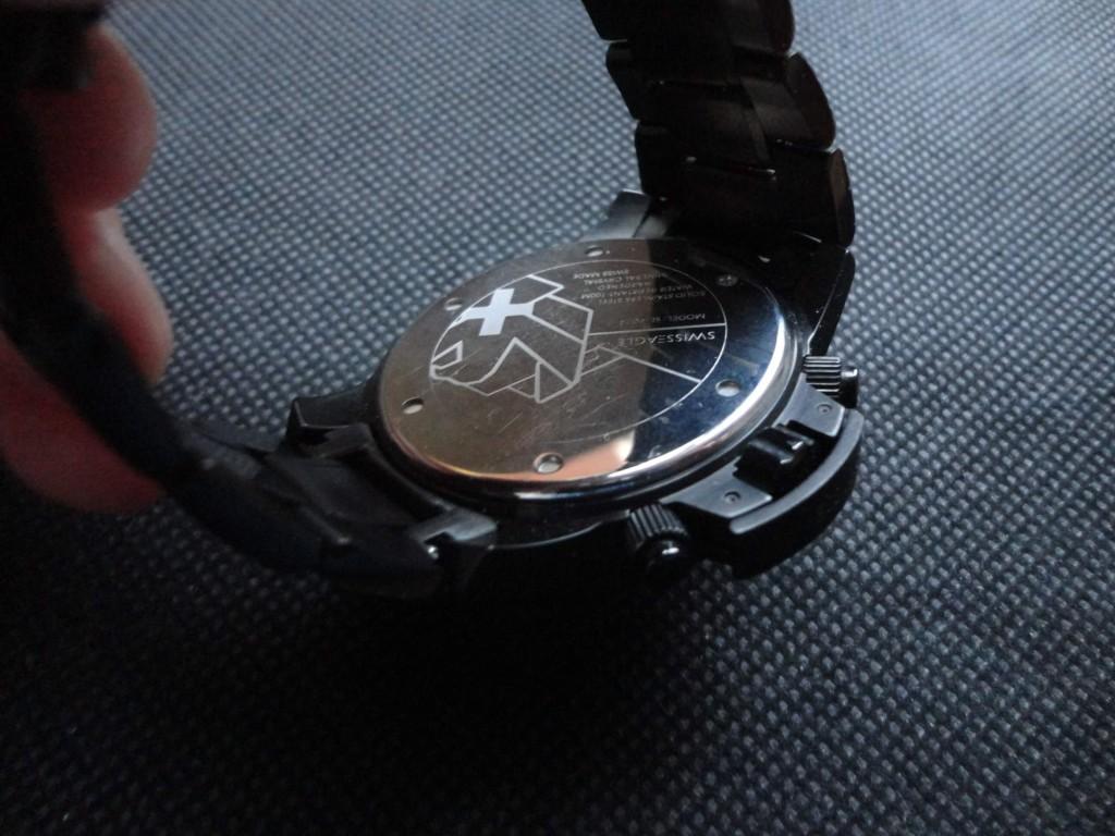 cassa del orologio swiss eagle