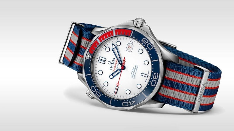 OMEGA Seamaster Diver 300M Commanders Watch Limited Edition
