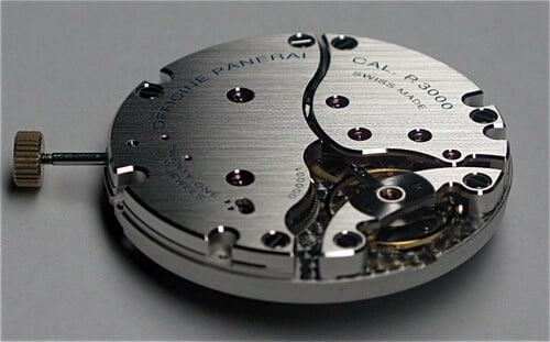 moviemnto calibro Panerai P.3000.