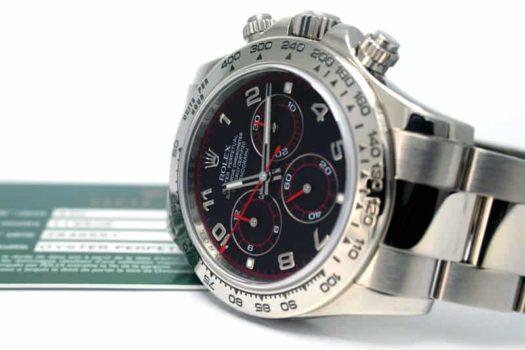 Cosmograph Rolex Daytona oro bianco Ref. 116509