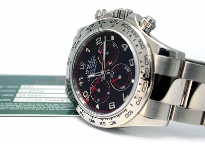 Rolex Daytona in oro bianco con Referenza 116509