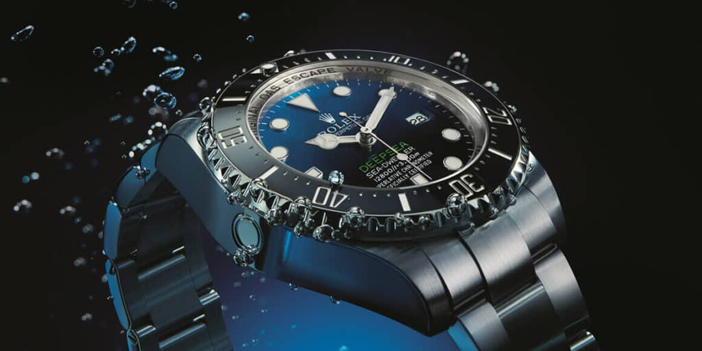 ROLEX DEEP SEA D‑BLUE
