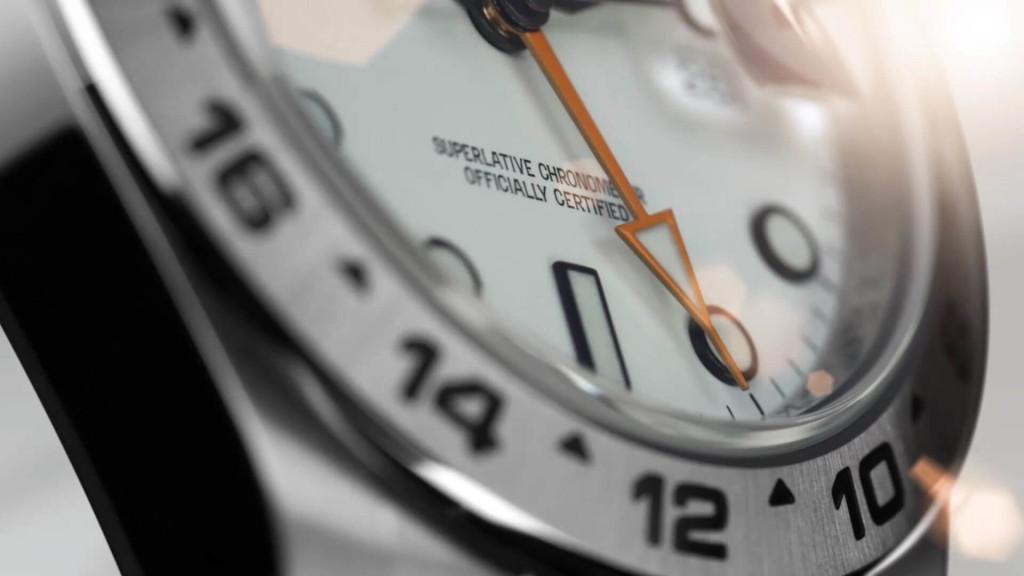Rolex Explorer II con la lunetta delle 24 ore