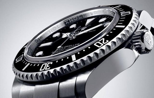 Rolex Sea Dweller 4000 con quadrante in vetro zaffiro