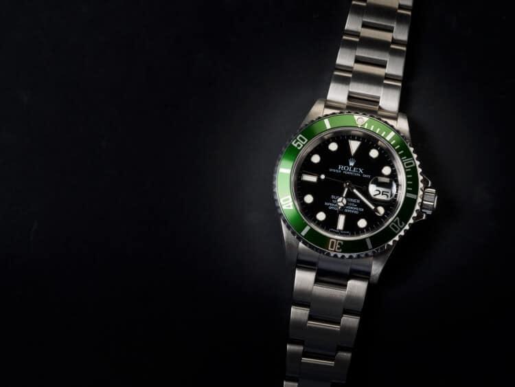 Rolex Submariner Ghiera Verde e quadrante nero ref. 16610LV