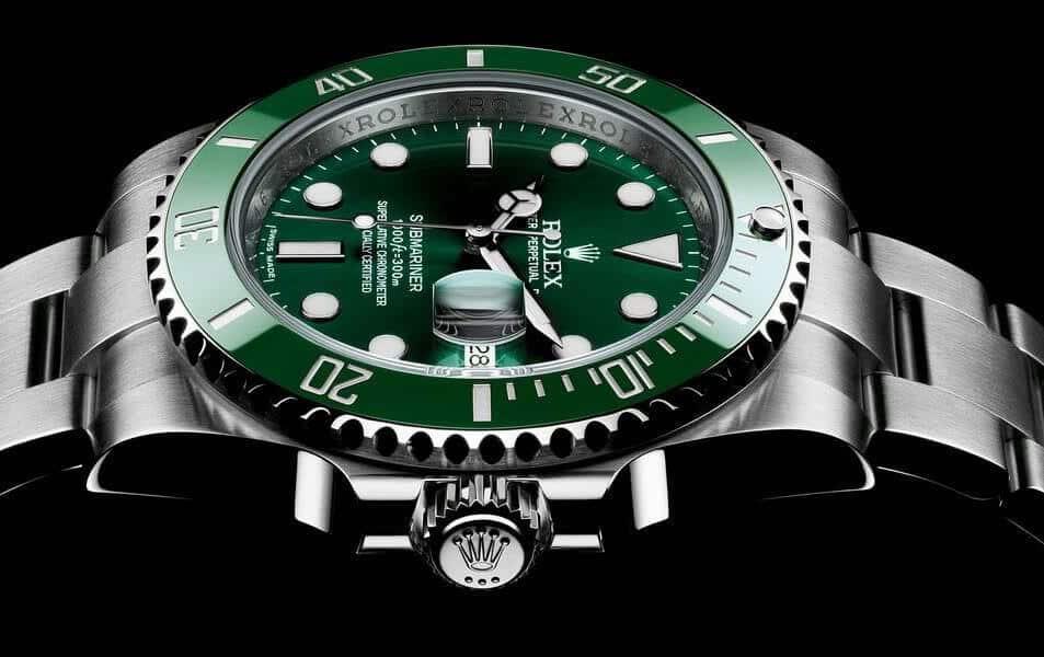 informazioni Rolex Submariner verde Referenza 116610LV