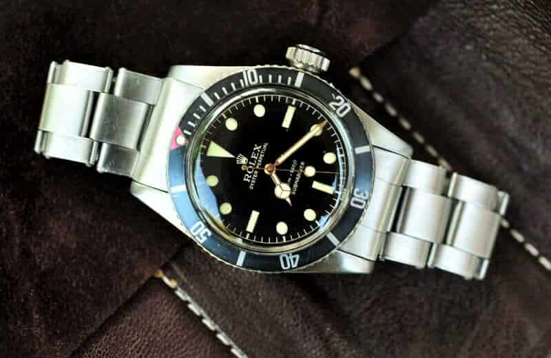 Rolex Submariner con referenza 6538