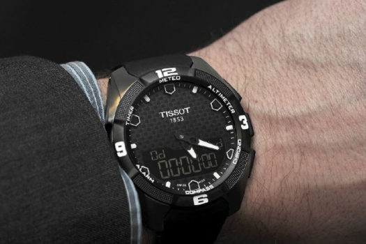 Tissot T-touch Expert Solar: il primo touch a energia solare