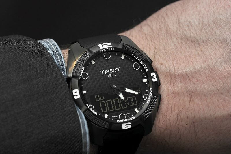 orologio tissot touch screen