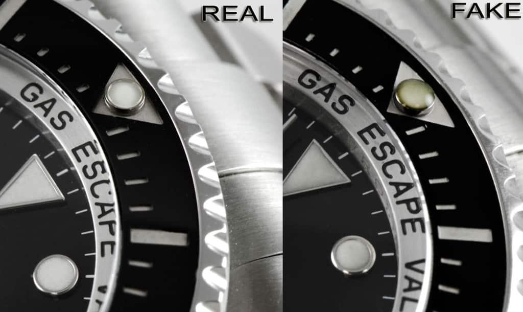 informazioni su come riconoscere un Rolex falso