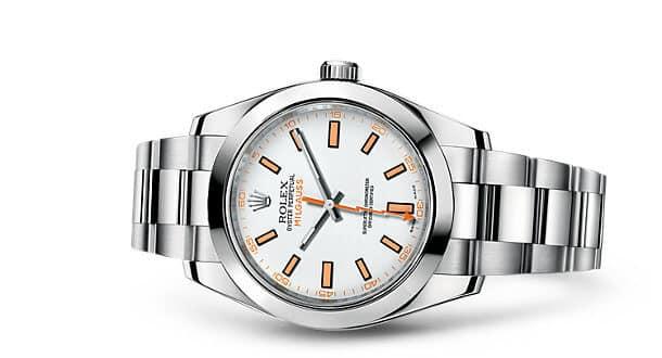 Rolex Milgauss bianco 116400 gv