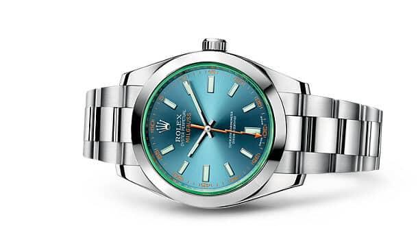 Rolex 116400 gv Quadtrante Blu Z