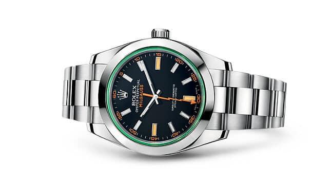 Rolex 116400 gv Quadtrante nero
