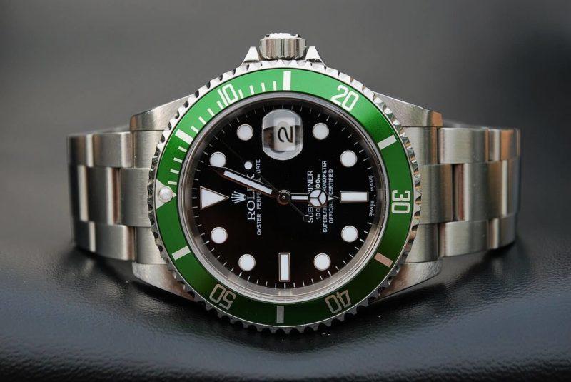 rolex Submariner 16610 ghiera verde