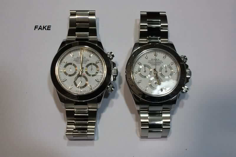 rolex daytona fake