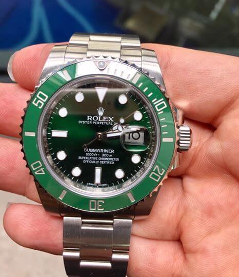 Prezzo del Rolex submariner 116610LV (hulk)
