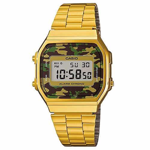 prezzo Casio A168WEGC-5EF