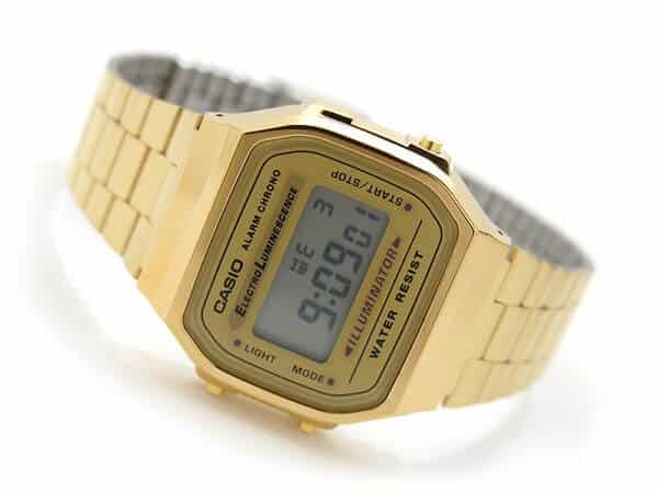 orologio in oro Casio Collection A168WG-9EF