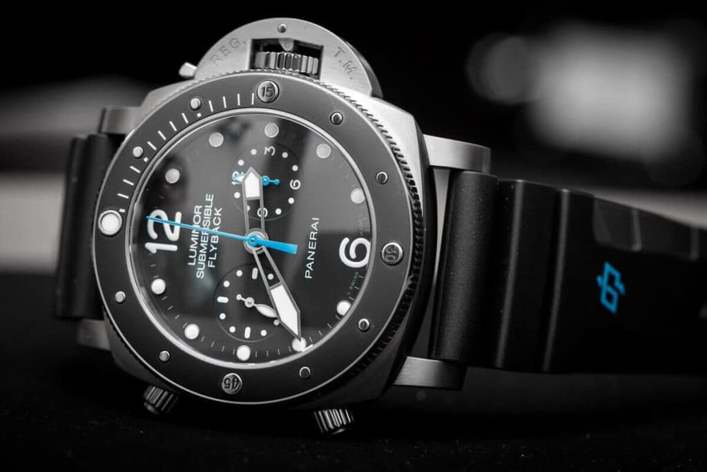 Luminor Submersible 1950 3 Days Titanio