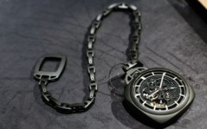 POCKET WATCH TOURBILLON GMT CERAMICA - 59MM