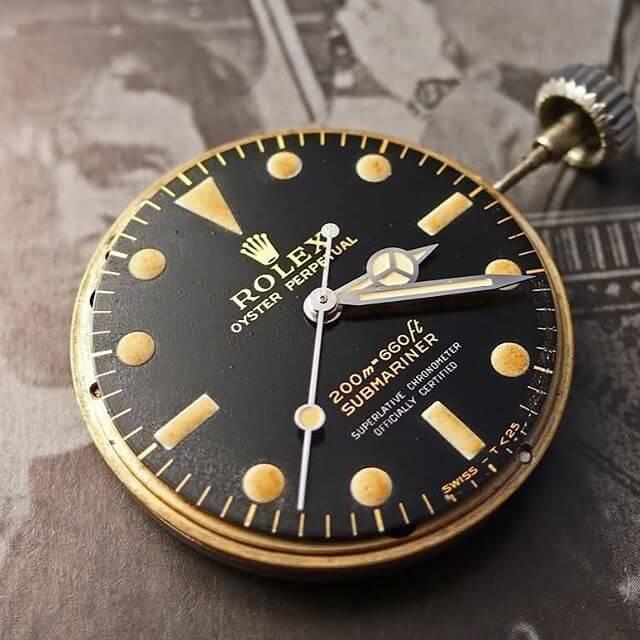 Movimento Rolex 5512