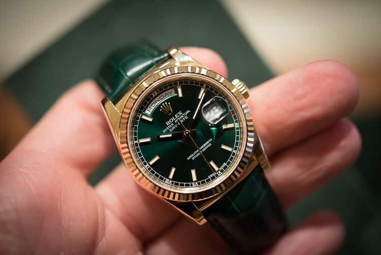 Rolex D-date 36 ref 118138