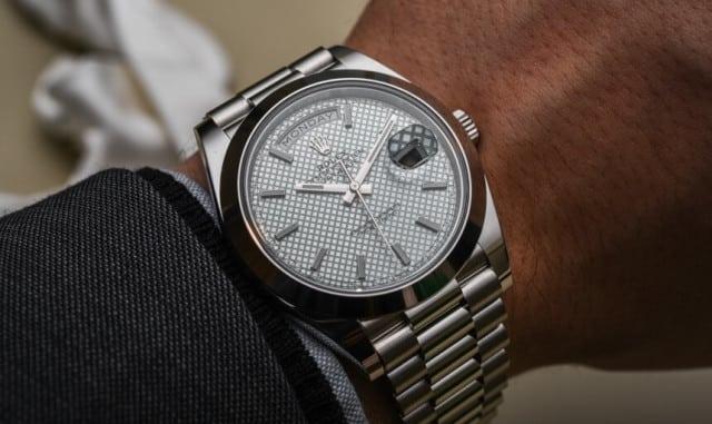 recensione Rolex Day date 40