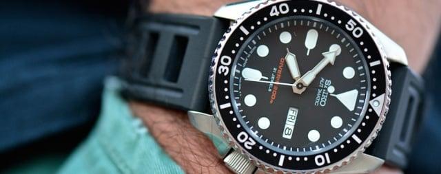 Caratteristiche dell'orologio Seiko M SKX007k