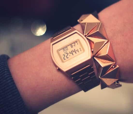 Casio oro rosa B640WC-5AEF
