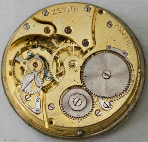 meccanismo orologi da tasca Zenith