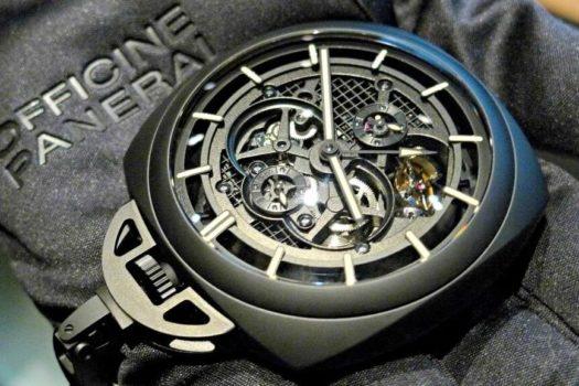 Pocket Watch Tourbillon GMT Ceramica: orologio esclusivo