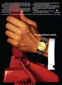 rolex day date del 1956 Watch the Presidents