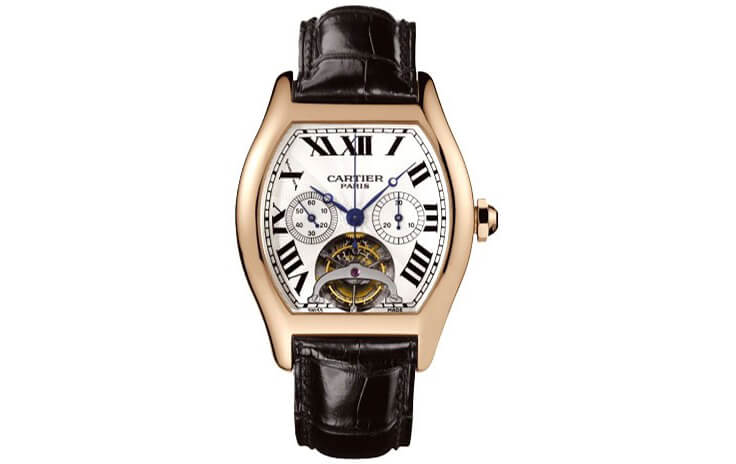 orologio Cartier Extra Large Tortue Cronosraph Pink Gold