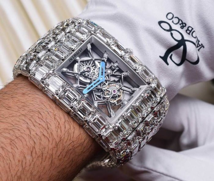 orologio da uomo jacob and co billionaire watch