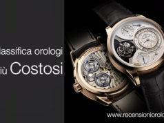Classifica orologi costosi
