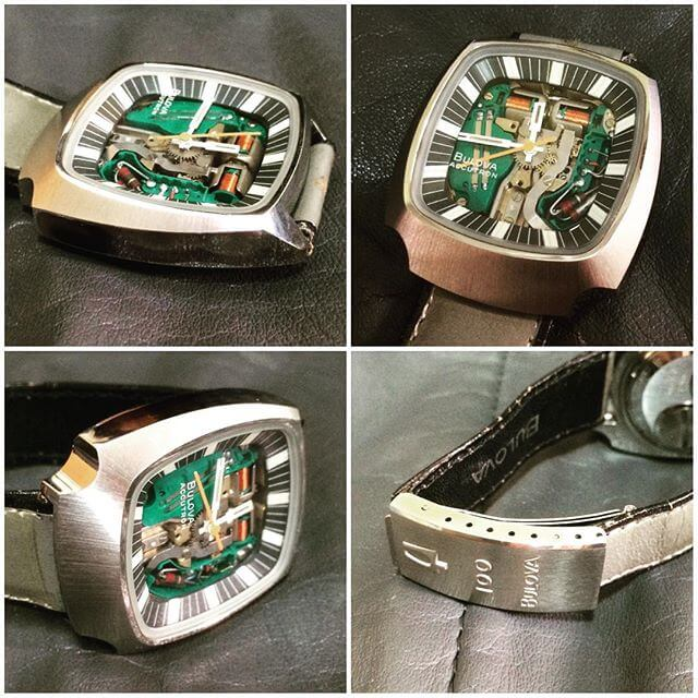 Bulova Accutron Spaceview del 1975