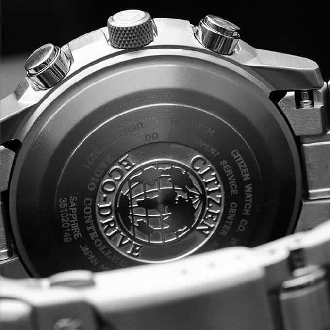 Orologio in titanio