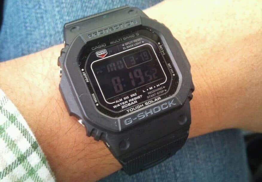Recensione Casio GW-M5610BB-1ER