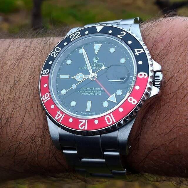 orologio Rolex gmt 16710 Master 2