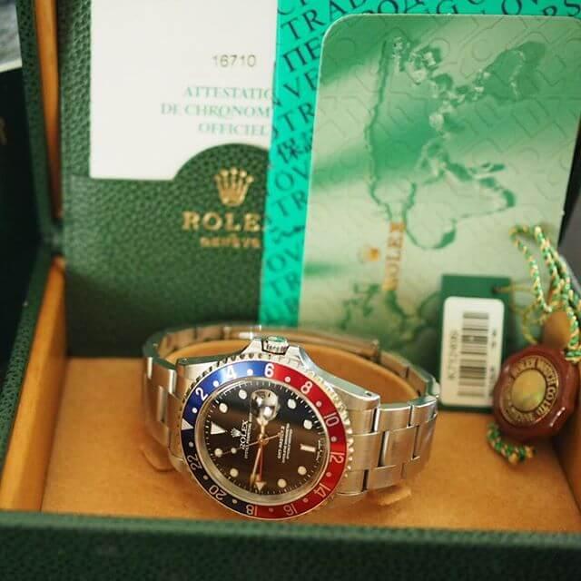 Orologio Rolex gmt Master II