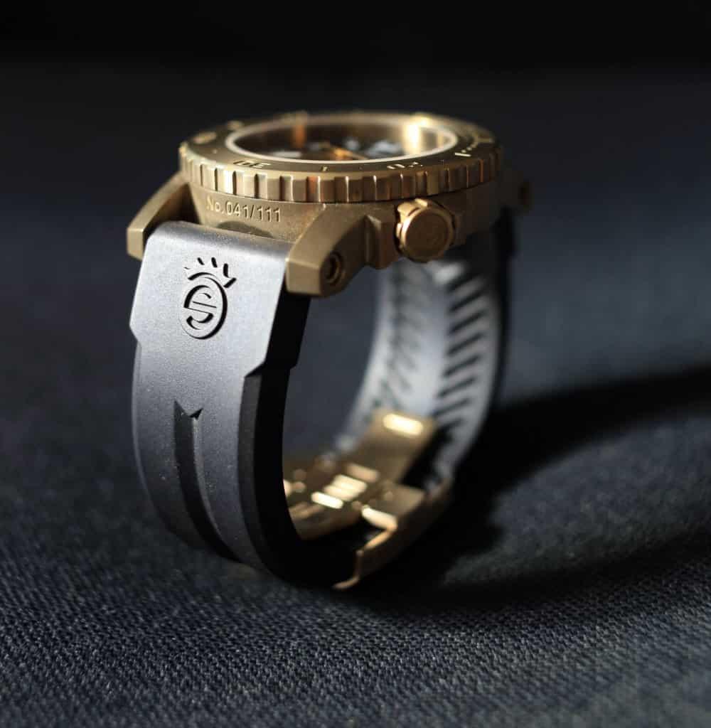 orologio steinhart Steinhart Triton 30 ATM Anniversary Bronzo