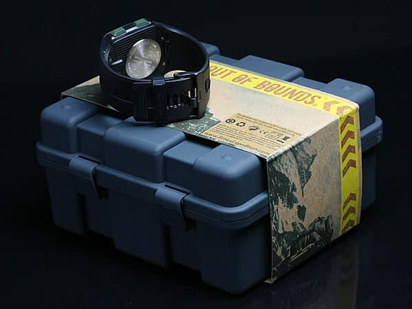 scatola e orologio Timex Expedition WS4