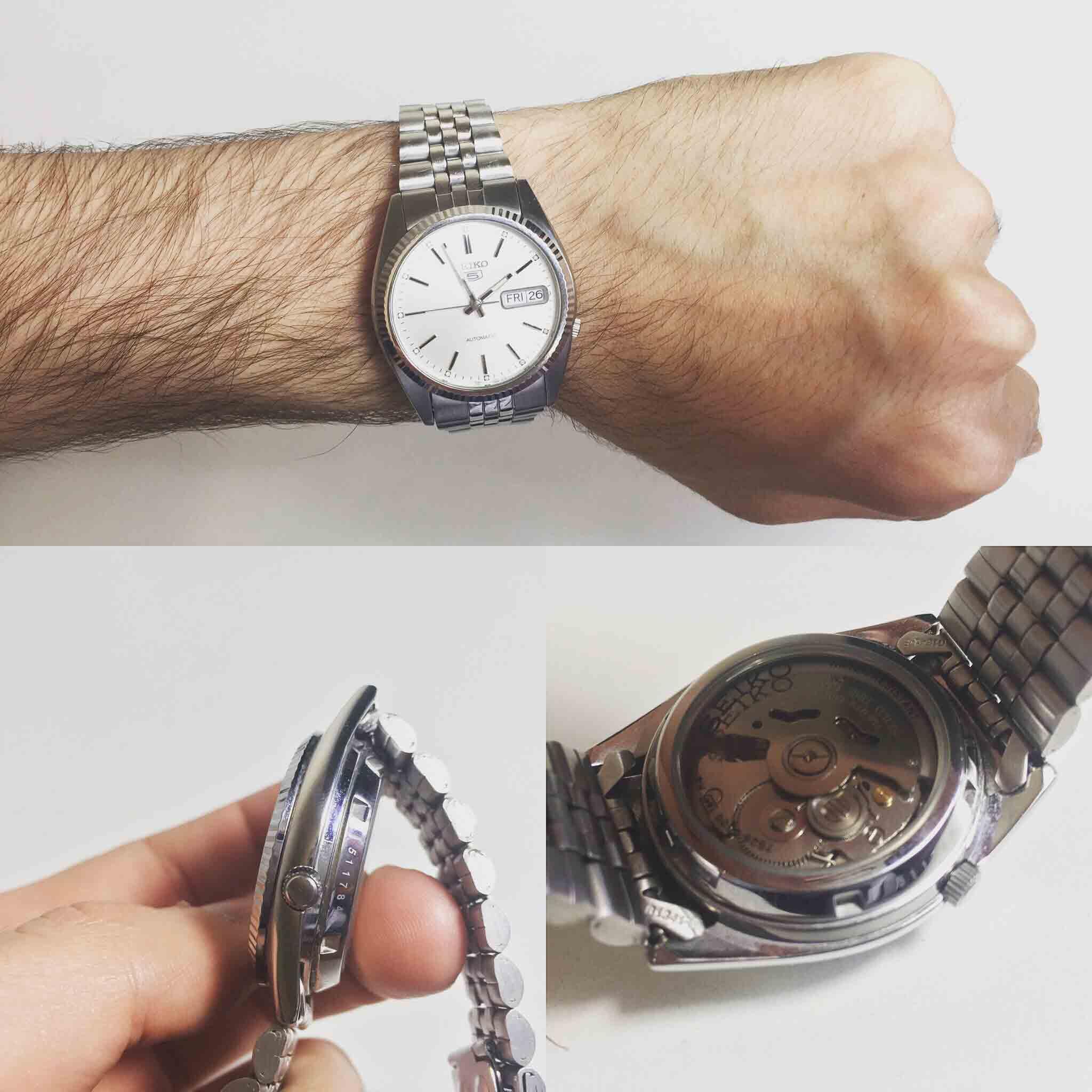 design senza tempo 46c11 764b7 Seiko 5 automatico 21 jewels - Prezzo. recensione e dove ...