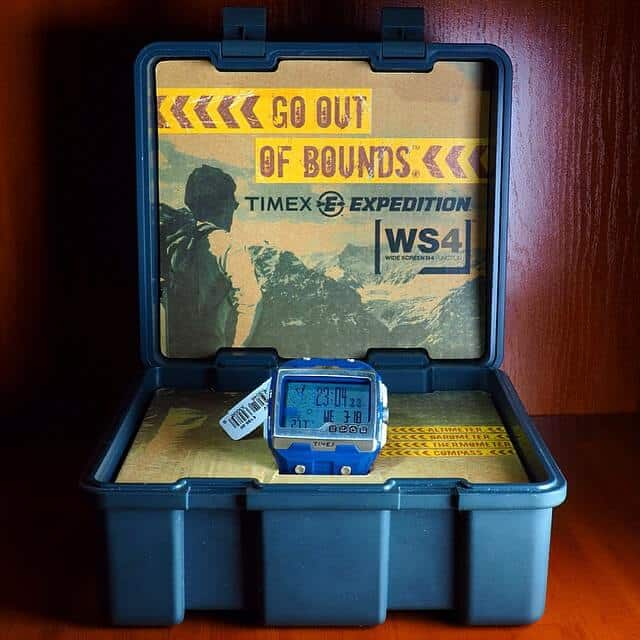 Timex Expedition WS4 nella scatola
